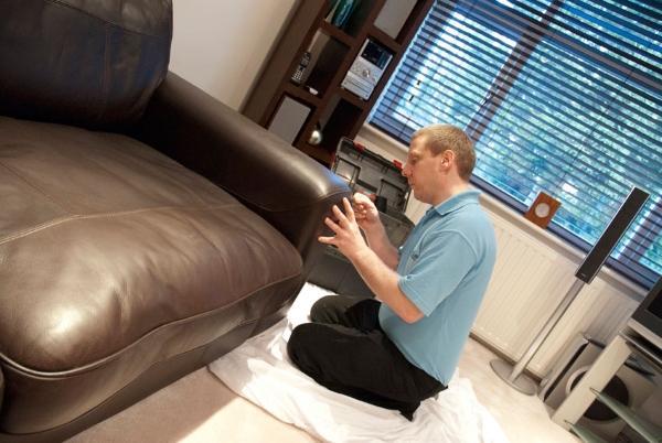 popravljanje kože kauča